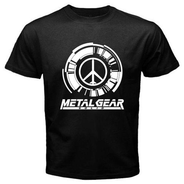 Cool T Shirts Short Sleeve Top Crew Neck Mens Metal Gear Solid Popular Games Foxhound Mens White Black T Shirt T Shirt