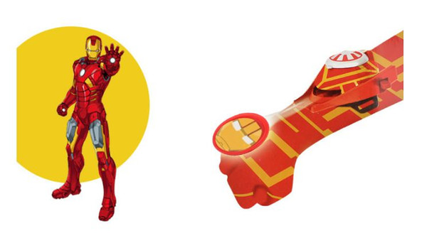 Newly Kids Spider Iron Bat Launcher Gloves Children Action Figure Toys Boys With Retail Box (5 Model)