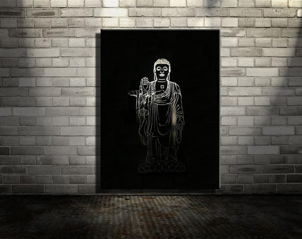 Compre Decoración De La Pared Del Arte 3d Original Pintura Al Óleo ...