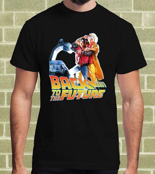 RITORNO AL FUTURO BACK TO THE FUTURE FILM CULT T-SHIRT per Uomo e Bambino T-Shirt Men High Quality Tees Harajuku Funny Tops