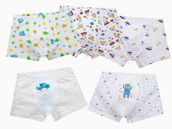 New children's underwear cotton boy's underwear boys' boxer briefs Toddler Baby Boys underwear boxer cotton cartoon children panties