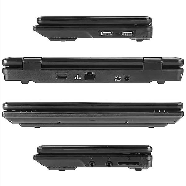 Computador portátil Bluetooth Wi-Fi RJ45 do andróide do portátil do andróide do caderno de 7 polegadas RJ45 para o comprador do russo
