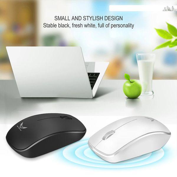 2018 Marque Nouveau Universal Business bureau 2.4G Sans Fil Mini souris 1600dpj capteur optique souris USB Gaming mouse pour ordinateur portable