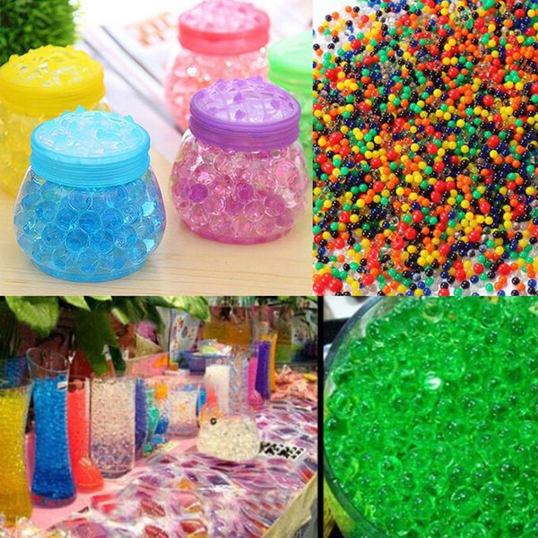 Pearl Soil Water Beads Gel Ball For Flower Mud Grow Magic Jelly Balls Jids  Toy Polymer Balls Water Polymer Beads From Best_dream, $2 17| DHgate Com
