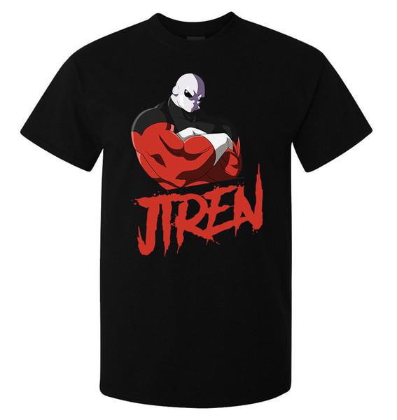 Dragon Ball Super Jiren The Grey homens (mulher disponível) camiseta preta qualidade