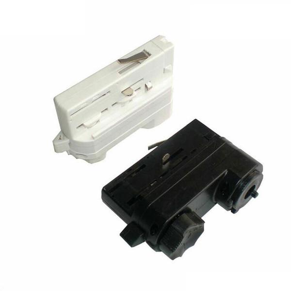 Vier-Line-Track-Kopf 4-Draht-LED-Track-Light-Lampe Joint Lighting-Anschluss 100pcs