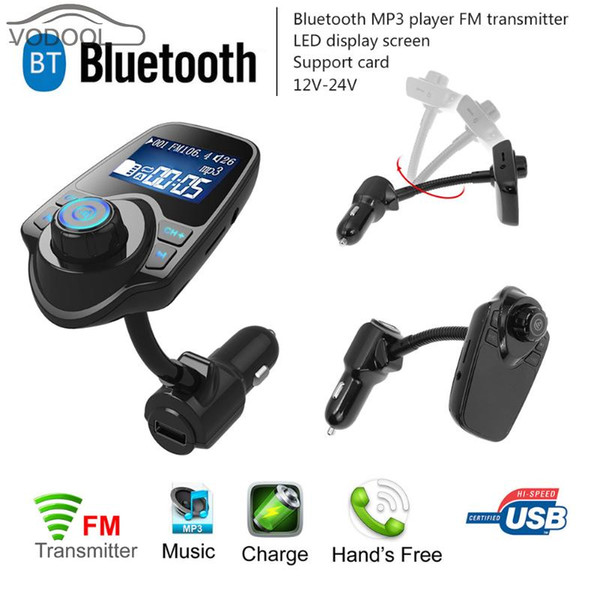 LCD-Anzeige drahtlose Bluetooth V3.0 EDR Freisprecheinrichtung Car Carro MP3-Player FM-Transmitter USB-Auto-Ladegerät
