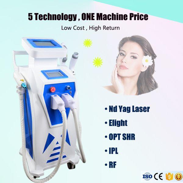 IPL epilasyon Elight cilt gençleştirme lazer makinesi IPL pigment kaldırma akne tedavisi lazer yüz germe cilt sıkma IPL makinesi