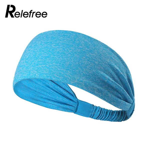 Deportes de la fibra de poliéster Running Sweatband Yoga Headband Baloncesto de múltiples funciones tenis respirable Fútbol de alta calidad