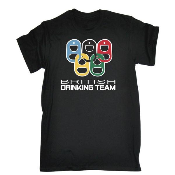 British Drinking Team Joke Funny Pub Bar T-SHIRT Birthday present gift joke Cool