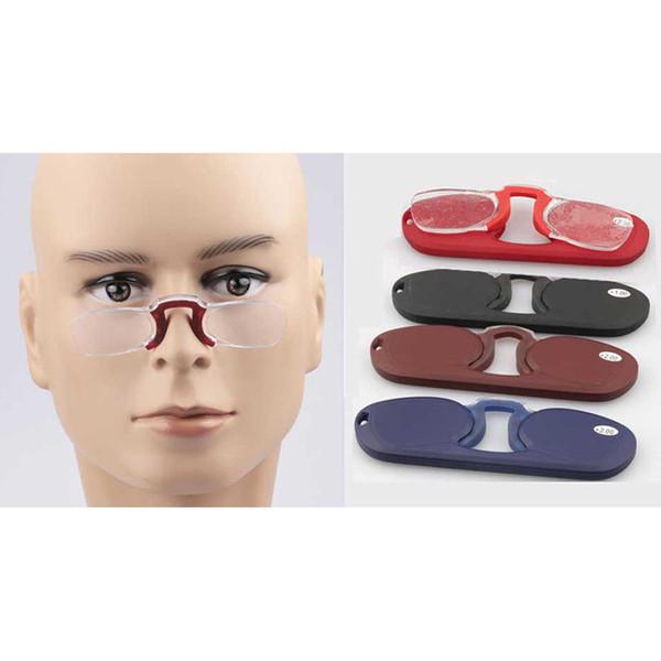 Gafas de lectura baratas con estuche para unisex PC Material Frame envío gratis PP2577