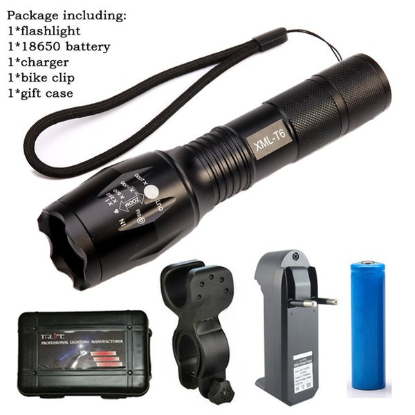 flashlight+battery+charger+clip+case