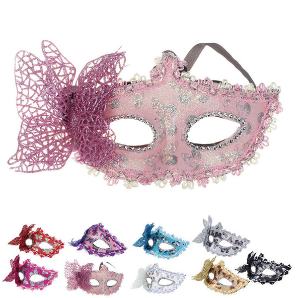 Lovely Pet 2017 New Butterfly Mask Sexy Elegant Eye Face Mask for Party Fashion Ladied Hot Selling Drop Shipping 0621