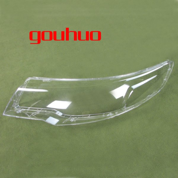 transparent lampshade lamp shade front Headlight shell headlight cover glass lens for KIA Forte 2009-2012 2pcs