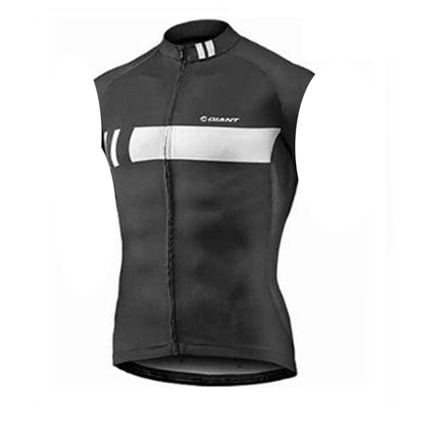 GÉANT équipe cyclisme sans manches en jersey gilet en gros haute qualité simple homme casual vêtements livraison gratuite U62040