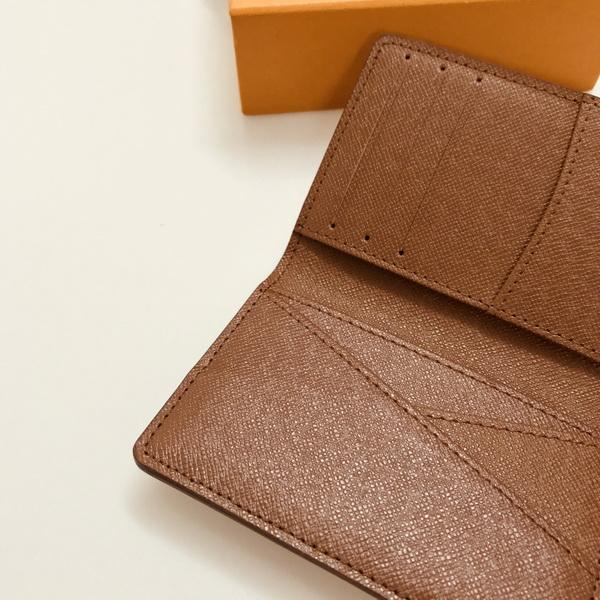 top popular M60502 POCKET ORGANIZER Card Holder Designer Mens Slim Slender Multiple Brazza Marco Mini Bi-fold Zippy XL Wallet Case Key Pouch Pochette Cle Discovery Bumbag 2021