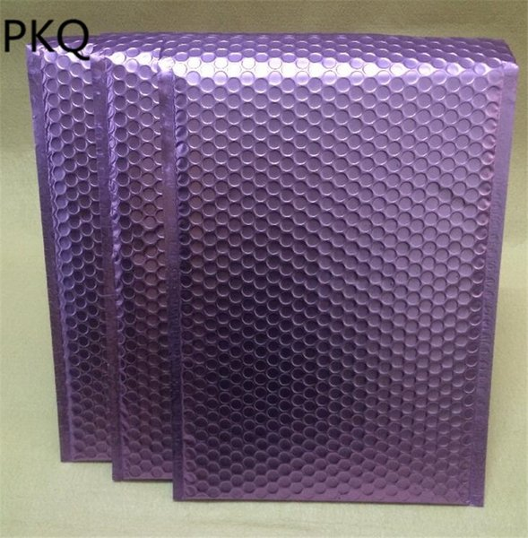 30 adet / paket Mailer zarflar nakliye Darbeye çanta 25 * 32 cm Renkli Kabarcık Postaları Yastıklı Zarflar Ambalaj Teslimat Çantaları