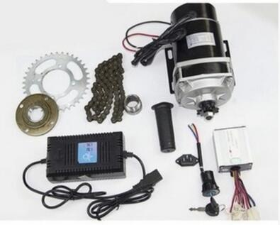 MY1122ZXF 650w24v DC brushed gear decelerating motor ,electric bicycle conversion kit,electric scooter motor accessories kit
