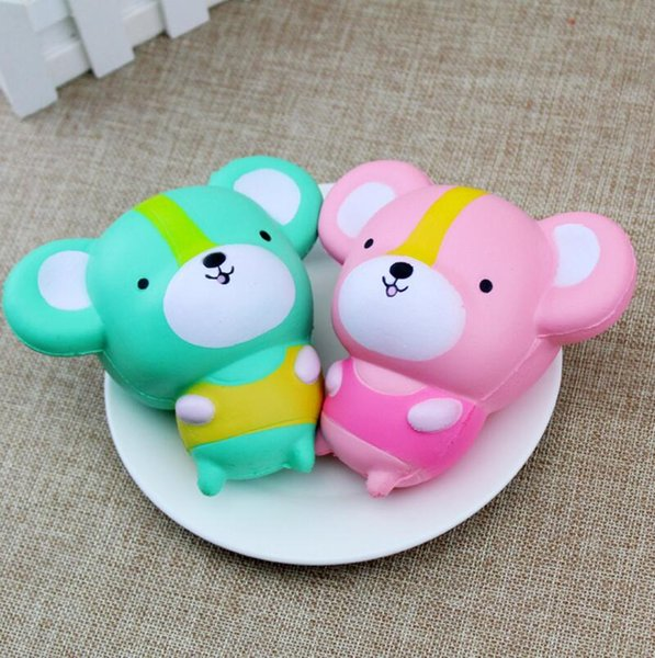 Squishy Kawaii Mouse Slow Rising Toys Mice New Decoration Animals Perfume Squishies Relaxation Cute Rat Anti Stress Freeshipping