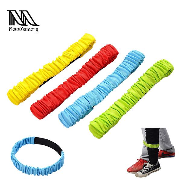 Three-legged Elastic Sport Tie Rope Run Race Game Kids Cooperation Outdoor ^^