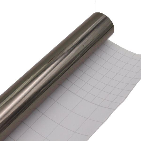 5meters X 60CM car chrome foil sticker Mirror Vinyl Film Foil black Decoration sticker covers car accessories