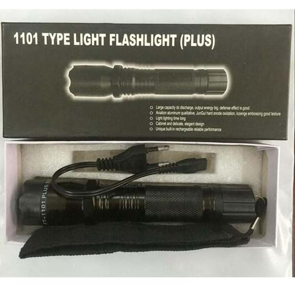 Hot Sale New 1101 1102 6610 Type Edc Linternas Light LED Tactical Flashlight Lanterna Self Defense Torch Free Shipping