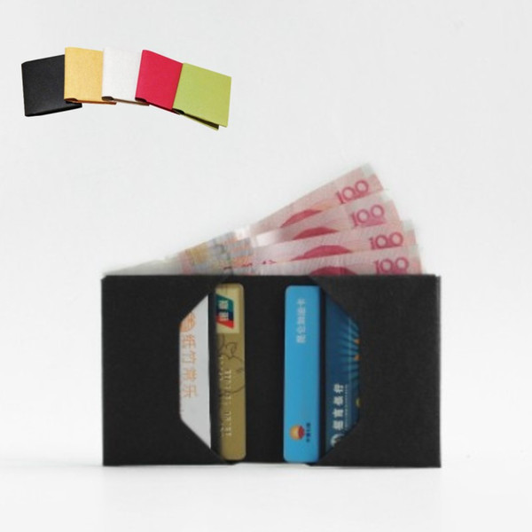 washable kraft paper wallet eco freindly recycle coin purse notecase case Short walle burse change pouch card holder