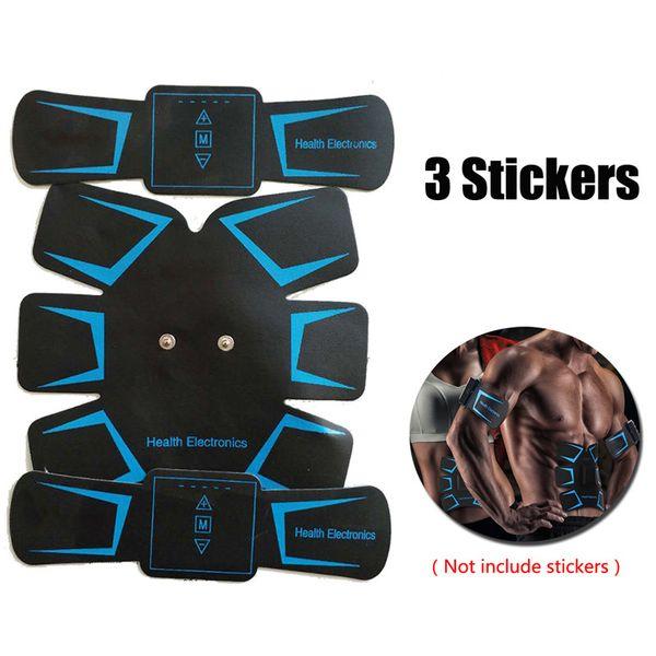 El mejor reparto del ccsme Músculo Trainer Pegatinas Abdominal Fitness Estimulador Cinturón Fitness Toner Building Arm Muscle Massager Dispositivo