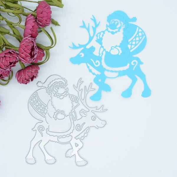 Craft Cutting dies Christmas Deerlet for Cards Stencil Scrapbooking Paper Crafts Embossing folder DIY paper craft Machines