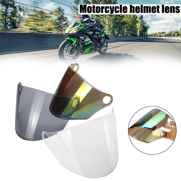 1x Motorcycle Helmet Shield Visor Windproof Waterproof Bicycle Cycling Helmet Visor Shield Mask Lens Universal Flip up Lens