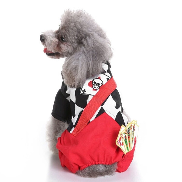 christmas magician holiday costume dog clothes transformed dress dog clothes funny christmas holiday dog dress