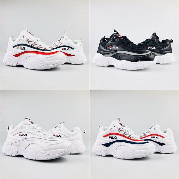 rivenditore di vendita ce996 264ec Acquista 2018 Caldo FILA Mens Scarpe Da Corsa Uomo E Donna Moda Atletica  Scarpe Sportive Corss Escursionismo Da Jogging Classic Design Sneakers  Taglia ...