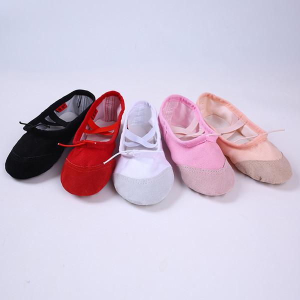 Pure Cotton Thicken Yoga Shoes Non Slip Cowhide Bottom Soft Ventilation Creative Dance Anti Wear Ballet Shoe 6ym jj