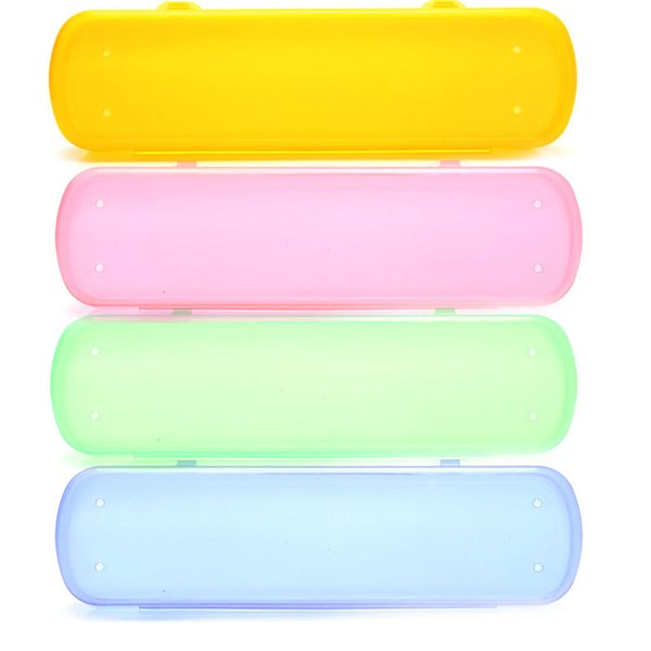 THINKTHENDO Popular New Green Healthy Environmental Portative Color Travel Tooth Brush Case Storage Bag 4 Colors