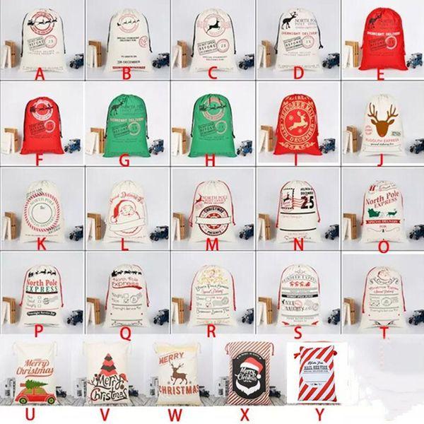 Christmas Bag Santa Sack Personalized Canvas Burlap Bag For Gifts Christmas Gift Bags Drawstring Santa Sack Special Delivery Extra Large Siz