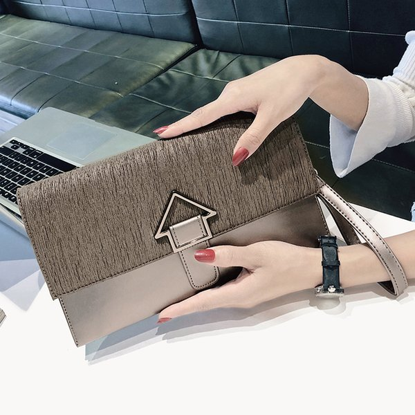 factory price day clutch new designer envelope leather purse wallet Casual womens evening clutch bags lady party handbag