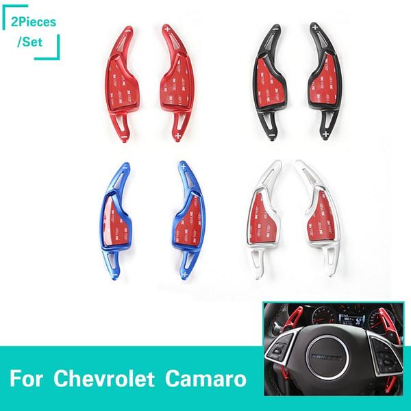 Рулевые переключатели передач автомобиля (пара) Аксессуары для укладки из алюминиевого сплава Расширение Fit Chevrolet Camaro 2017