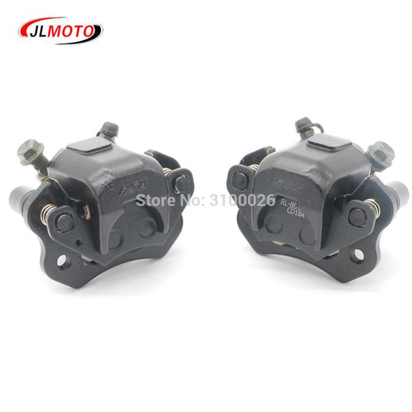 best selling 1Pair Left Right Brake Caliper Fit For Taotao Sunl 110cc 150cc 200cc 500w Electric Quad ATV UTV Go kart Buggy Scooter Parts