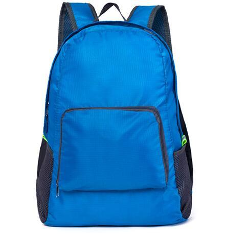 best selling 4 Colors Outdoor Travel Portable Bags Folding Light Weight Waterproof Backpack Sports Bag Riding Skin Bag Storage Backpack 200pcs