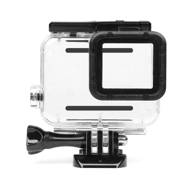 SHOOT 40M Unterwassergehäuse für GoPro Hero 5 Schwarz Go Pro Hero 6 Kamera Tauchgehäuse für GoPro Hero 6 Zubehör