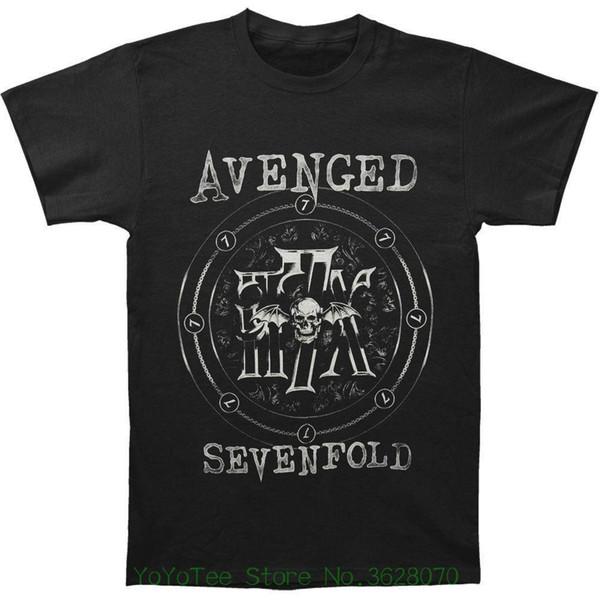 Round Neck Best Selling Male Natural Cotton Shirt Men' S Chain Circle T-shirt Black