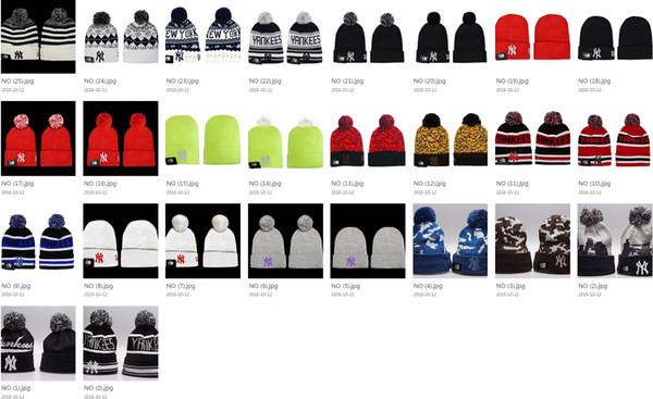 26 estilos Hip Hop Skullies Gorros para hombres y mujeres Letras de NY Bordado Sombreros de invierno Casuales al aire libre Gorros de acrílico Unisex gorros máscaras