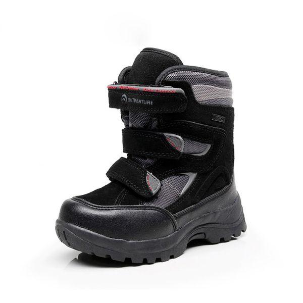 2018 Russia winter -30 degrees waterproof non-slip kids snow boots children winter shoe boys boots outdoor warm botas