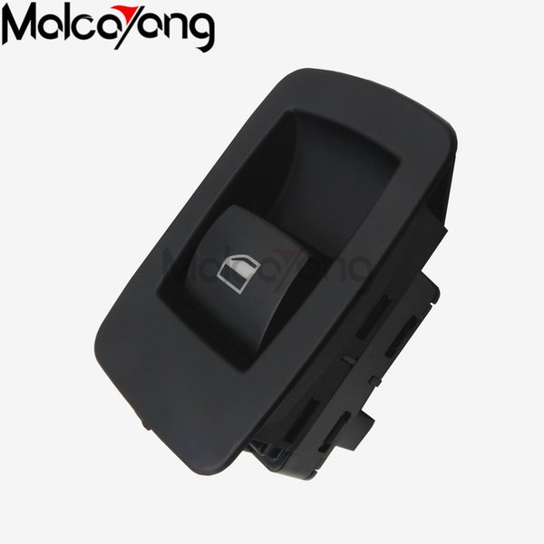 100% New Top quality 61316945874 Black Window Lifter Switch Front left or right For BMW E53 E91 316i 318i 320i K.M