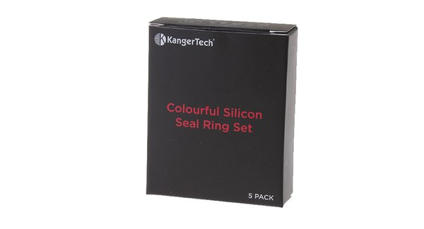 El auténtico juego de anillos selladores de silicona de KangerTech para SUBTANK Plus / V2 se envía uno de cada color