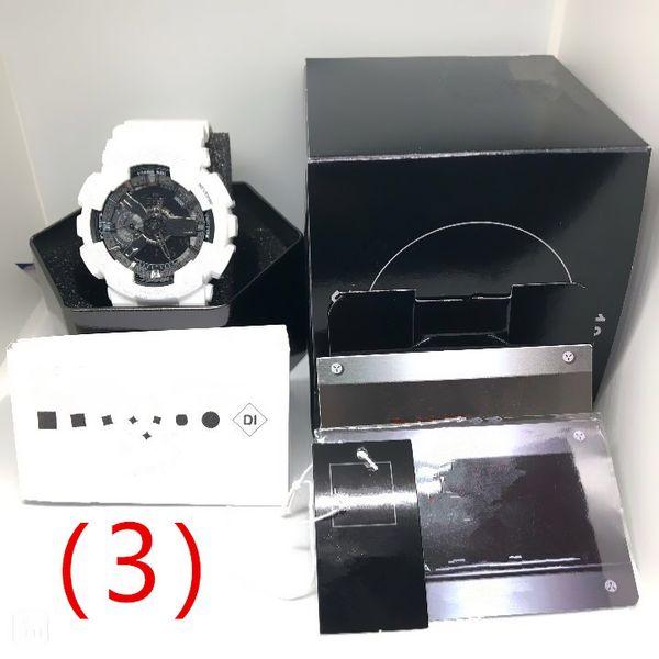 (3) Uhr +7 Zubehörbox.