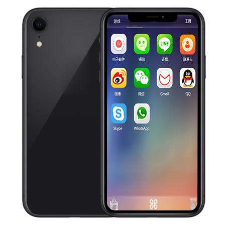 GoophoneXR X 6.1nch Full Screen Quad Core MTK6580 Face ID Smartphones 1G/8G Show Fake 4G LTE 3G Unlocked Phone