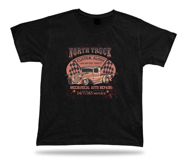Tshirt Birthday Gift Idea North Truck Race Classic Vintage Tee Shirt
