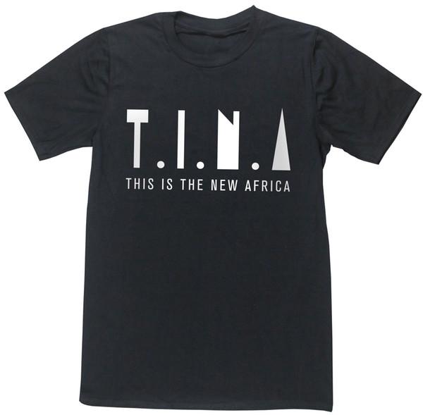 TINA, esta es la nueva camiseta unisex de África, country zebra zoo, cantante famosa alb