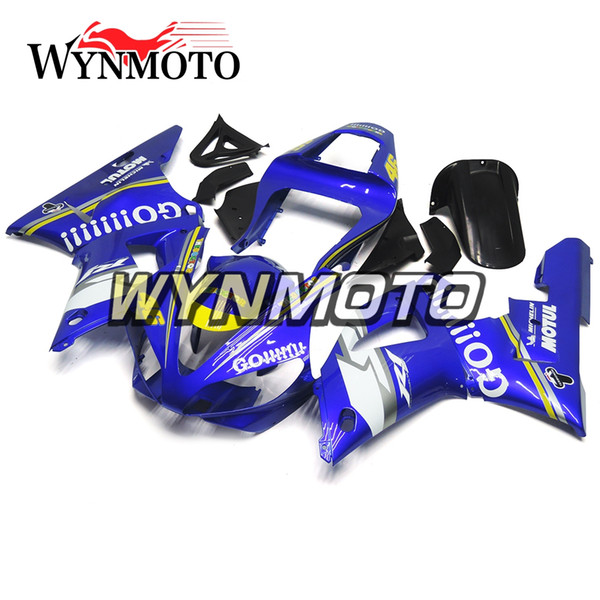 Body Frames For Yamaha YZF1000 R1 2000 2001 00 01 ABS Plastics Injection Motorbike Panels Blue Cover YZF R1 00 01 Fairings